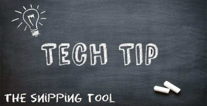 Tech Tip: Snipping Tool